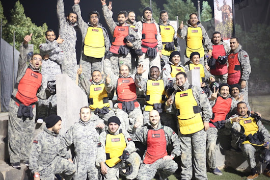 AlJammaz & Cisco organized a team building entertainment Paintball activity for SMB IT Reseller Partners to kick-off 2017 SMB year