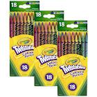 (3 Bx) Crayola Twistables 18ct Per Bx Colored Pencils