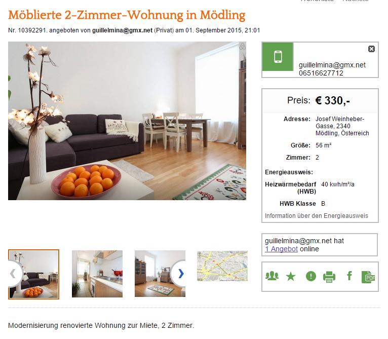 Wohnungsbetrug.blogspot.com: 2. September 2015