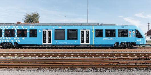 First hydrogen-powered train hits the tracks in Germany