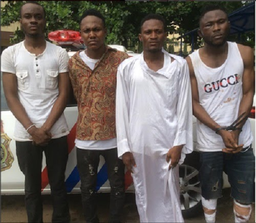 'Yahoo Boys' and Online Fraudsters Arrested (See Photo)