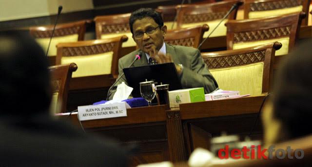 Ariyanto Sutadi Uji Kelayakan Capim KPK