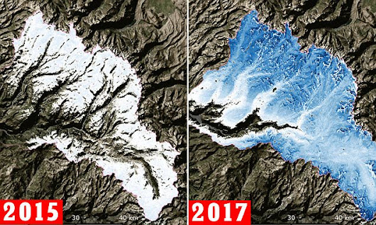 Sierra snowpack is bigger than has been for the last 4 years COMBINED