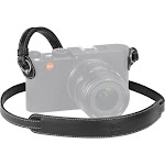 Leica Carrying Strap for M/X Vario Series Cameras, Black Leather 18776