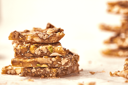Nut & Seed Brittle | The Messy Baker
