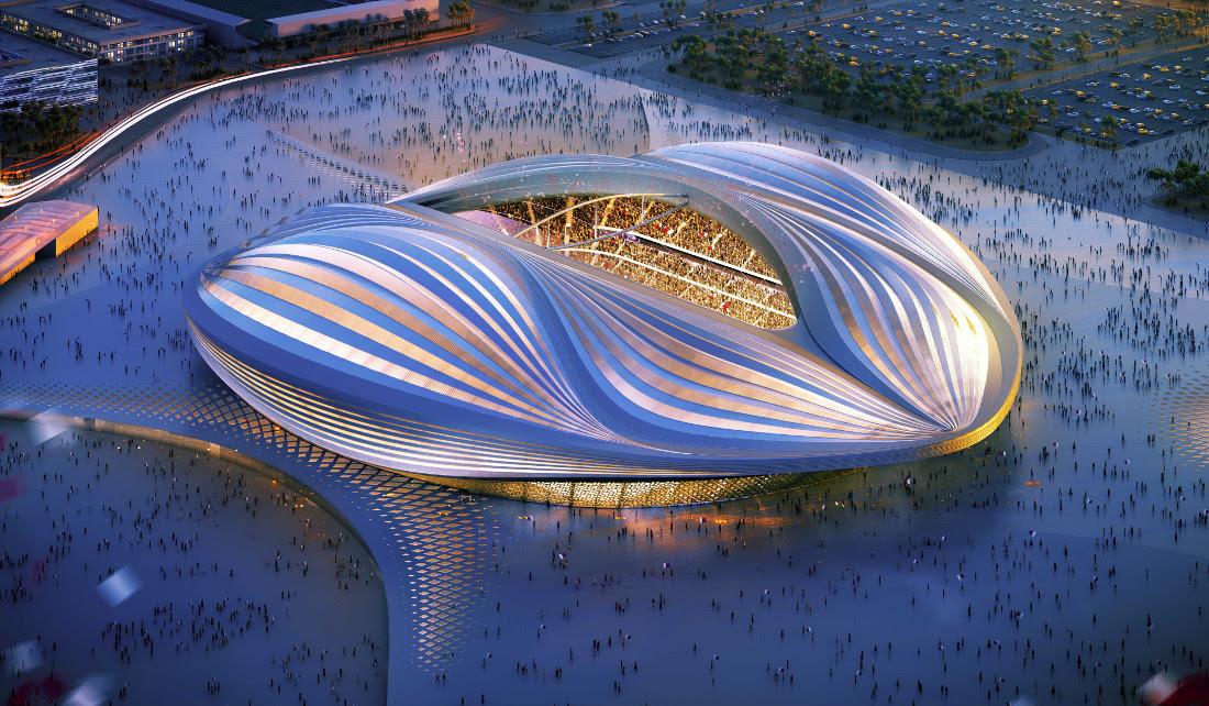 """Résultat de recherche d'images pour """"Le Al-Wakrah Stadium"""""""
