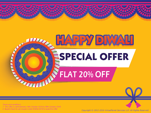 Diwali Sale - Flat 20% Off on All Plans