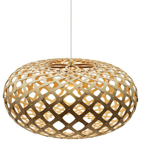 Modern Kina Wood Pendant Lighting - contemporary - pendant ...