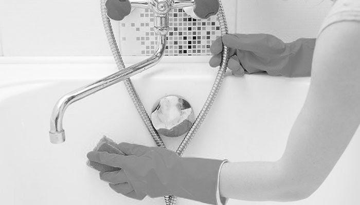 Come pulire vasca da bagno