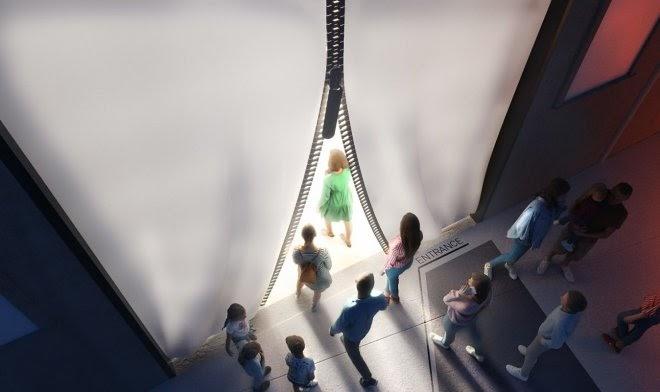 Новый музей углеродного волокна в Италии построят из этого же материала