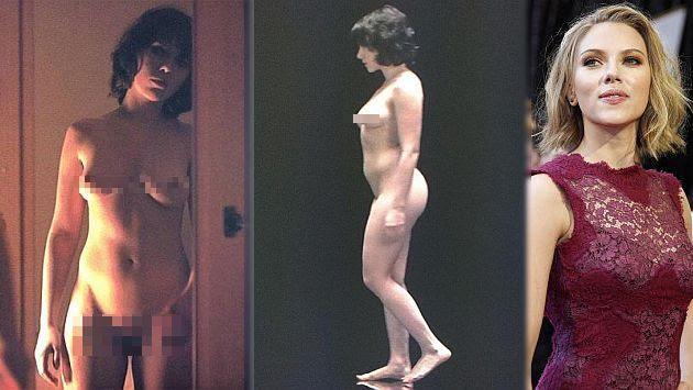 Scarlett Johansson: Desnudo integral de la actriz causa revuelo en Internet. (Internet/Reuters)