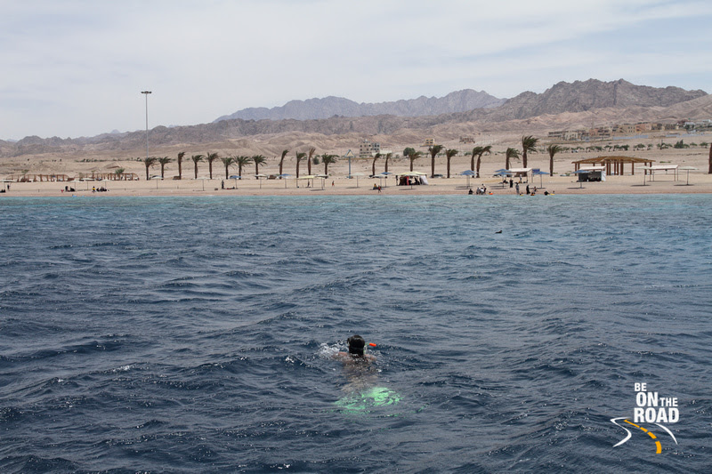 BE ON THE ROAD Travel Photography | Sankara Subramanian C: Aqaba &emdash; Snorkeling over the rich coral reefs of the Red Sea at Aqaba, Jordan