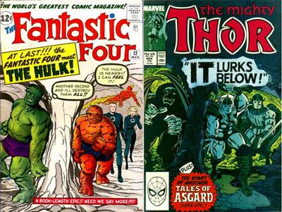 FF #12 & Thor #404