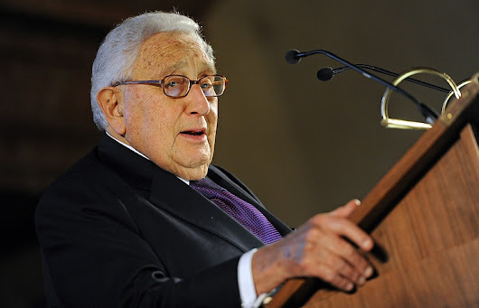 Kissinger says Putin is 'cold calculator' of Russia's national interest