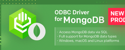 Meet the first release of Devart ODBC Driver for MongoDB!