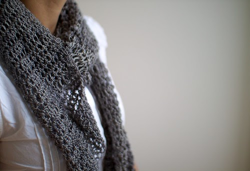 Grid Scarf by One Flew Over...