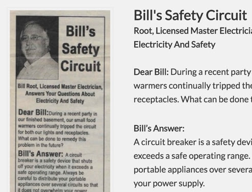 Bill's Safety Circuit – Food warmer trips circuit… - Electrician