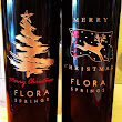 Flora Springs holiday bottles
