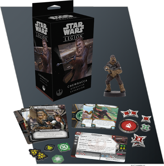 FFG ANNOUNCES CHEWBACCA AND WOOKIEE WARRIORS!