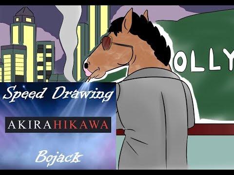 Speed Drawing: Bojack