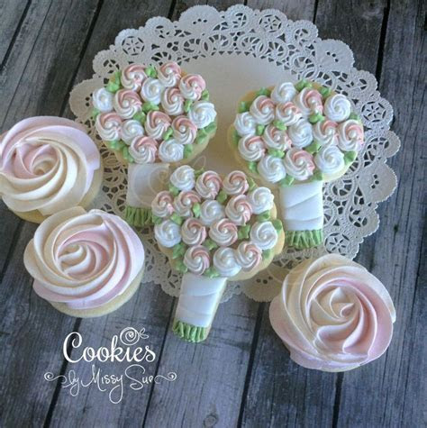Sweet Bridal Bouquets   Cookies by Missy Sue   copying