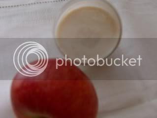 Iogurte de maçã