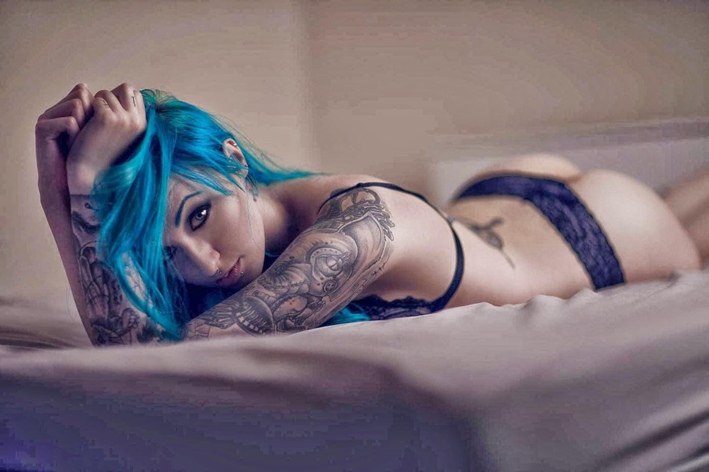 Tattoo Girl Wallpaper Sf Wallpaper