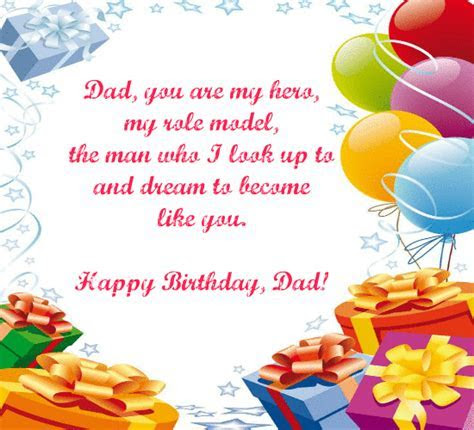 Happy Birthday To My Dad!! Free For Mom & Dad eCards