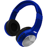 Naxa NE-964 BLUE Bluetooth Headphones Blue