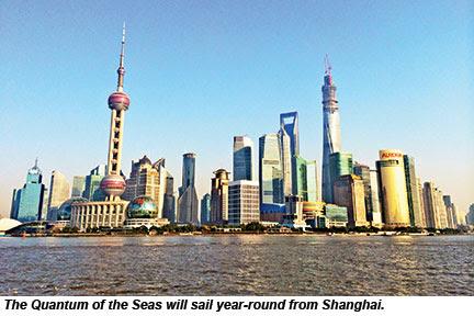 Shanghai, future homeport for Quantum