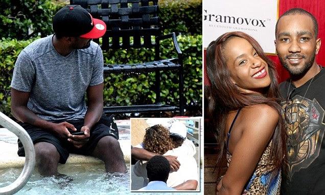 Nick Gordon relaxes at Florida duplex as Bobbi Kristina's grieving family gathers