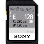 Sony - SF-E Series 128GB SDXC UHS-II Memory Card