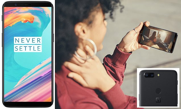OnePlus reveals £499 5T smartphone with facial recognition