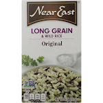 Near East Rice Pilaf Mix - Long Grain and Wild Rice - 6 Ounce - PACK OF 48