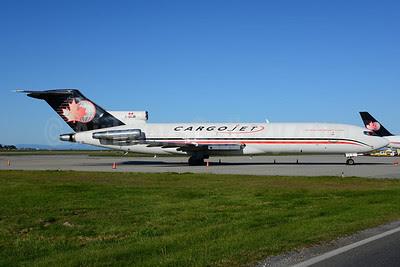 Cargojet Airways Boeing 727-225 (F) C-GCJB (msn 21855) YVR (Ton Jochems). Image: 913314.