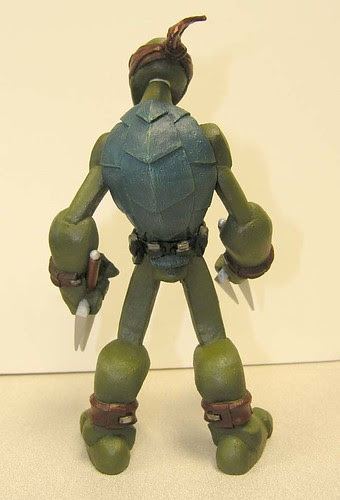 Raphael iii //..sculpt by Nate based on concept by Jason Bischoff of Squid Kids ink. (( 2004 ?! ))