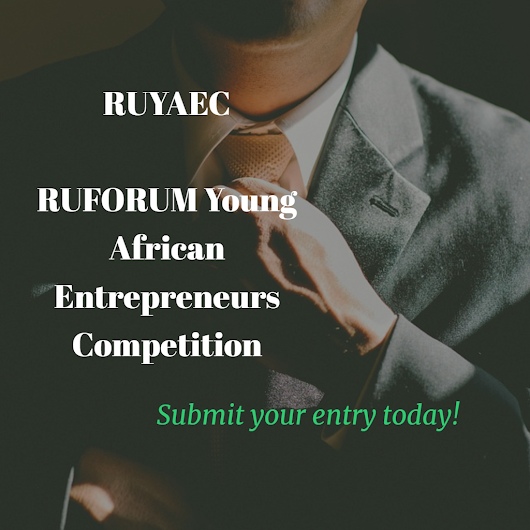 RUYAEC – RUFORUM Young African Entrepreneurs Competition