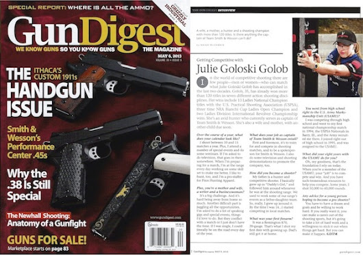 As Seen In: Getting Competitive with Julie Golob, Gun Digest Magazine
