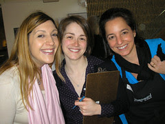 Me, Heather and Johanne from Pebeo!