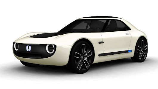 Honda Launches Awesome Retro EV Sports Coupe in Tokyo