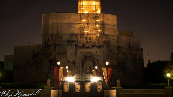 Disneyland Resort, Disneyland, Sleeping Beauty Castle, Refurbishment, Refurbish, Refurb, Tarp, Scrim, Concept, Herb, Ryan, Disneyland60