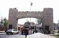 Bab-e-Khyber (Entrance to Khyber Pass)