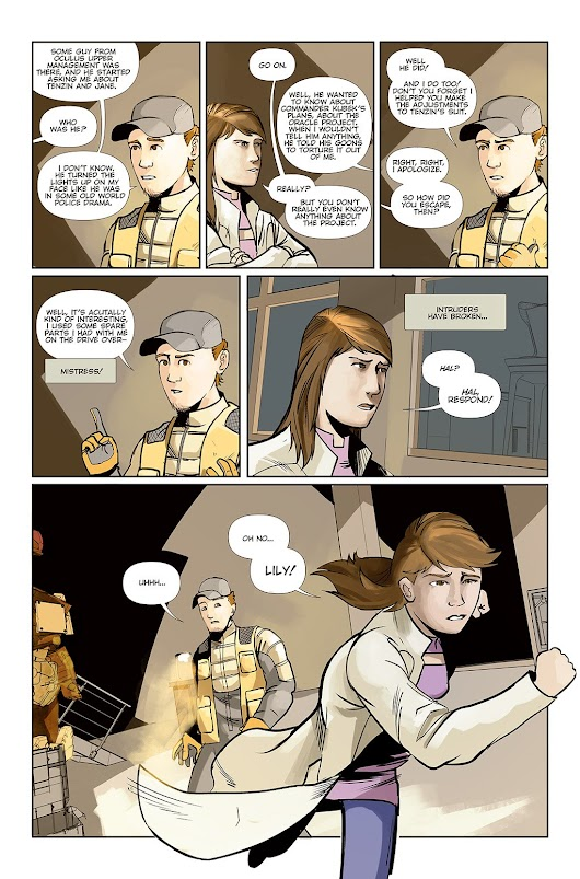 Chapter 11: Page 11 - Growing Conspiracy -