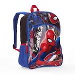 "Marvel Spider-Man 16"" Full-Size Backpack - Blue/Red"