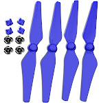 Ultimaxx DJI P4 QR PROPS W/INSTALL KIT- BLUE
