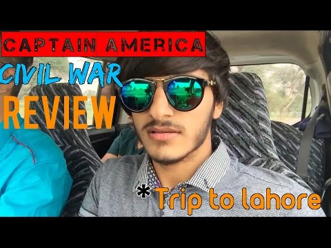 The Ahsan Zafar Channel     : Captain America: Civil War Review | first ever Pakistani Vlog
