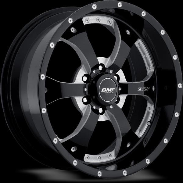 Black Chrome Truck Wheels Bmf Novakane Wheels In  Lug Wheels Madness Pinterest