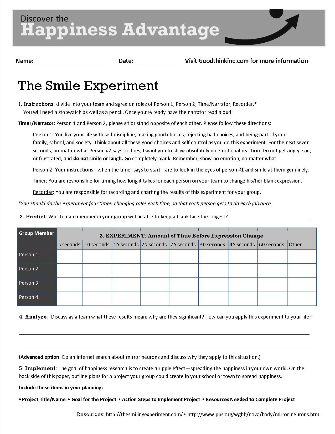 Coping With Anxiety Worksheets  newhairstylesformen2014.com