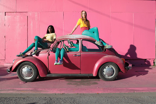 We love Solange x PUMA Girls of Blaze!