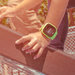 The Filip voice watch has a panic button to help lost children find adult help.